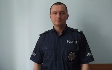 mł. asp.. Ryszard Karpus, Komenda Powiatowa Policji  w Chełmnie