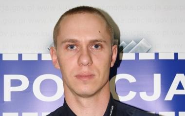 sierż. szt. Bartosz Gumiński, Komenda Powiatowa Policji w Wąbrzeźnie