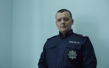 sierż. szt. Marek Krawczyk, Komenda Powiatowa w Chełmnie