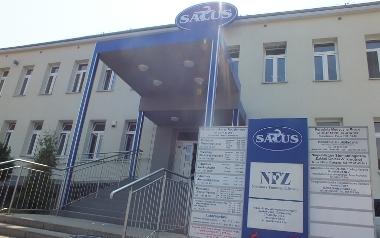 """Niepubliczny Wielospecjalistyczny Zakład Opieki Zdrowotnej """"SALUS"""" w Jastrzębiu-Zdroju."""