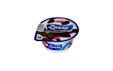 """Zuzia deser o smaku śmietankowo-czekoladowym 130g -produkt z tzw """"czystą etykietą""""."""