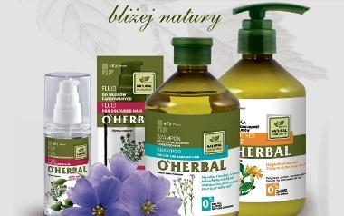 Linia kosmetyków O'HERBAL - ELFA PHARM
