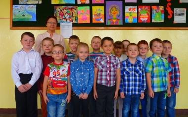 Szkoła Podstawowa w Łopuszce Wielkiej - Klasa I