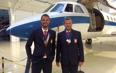 MICHAŁ i MARCIN WIECZORKOWIE - sport samolotowy