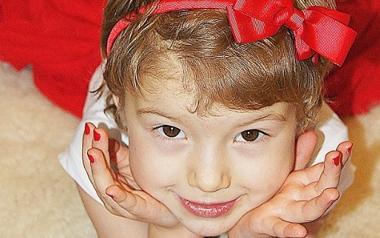 Nadia Matwiejczuk lat 4