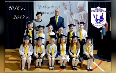 Szkoła Podstawowa im. Jana Pawła II w Mogielnicy - klasa 1