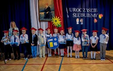 Szkoła Podstawowa im. ks. kard. Stefana Wyszyńskiego w Połomi - klasa I