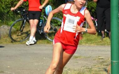 Łucja Wiktorowicz, Opoczno Sport Team, lekka atletyka