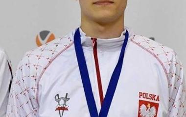 Mateusz Antkiewicz szpadzista AZS AWF Katowice