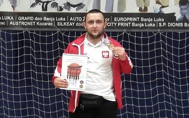 Mateusz Pompa Zawodnik Shoguna Żarki Letnisko pow. myszkowski