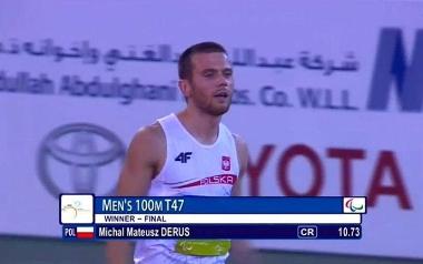 Michał Derus - wyślij sms o treści NNSS.1 na numer 72355 (koszt 2,46 zł z VAT)
