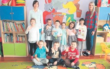PP 1 Nasz Domek grupa starsza 5-6 latków