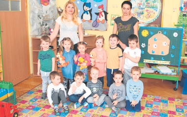 PP 26 ul.Radosna grupa 3-latków