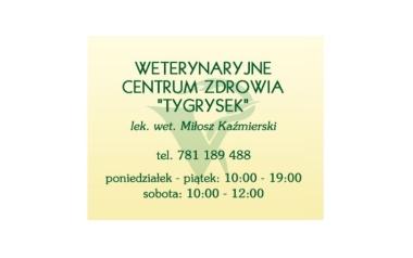 """Weterynaryjne Centrum Zdrowia """"Tygrysek"""""""