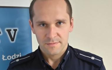mł. asp. Dawid Ptasiński