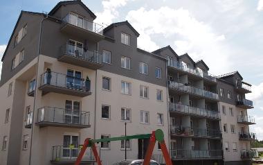 Budynek mieszkalny wielorodzinny nr B-4 w Zielonej Górze, ul. Łężyca- Inwestycyjna 20AB