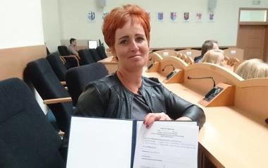 Elżbieta Woś, Sołectwo Ostrowąsy, Gmina Barwice
