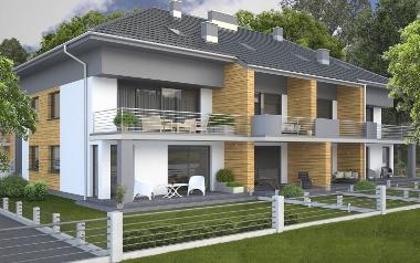 Osiedle mieszkaniowe Zielona Enklawa, ul. Budowlana 2C-G, Zielona Góra