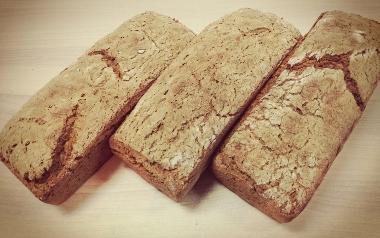 Chleb żytni razowy z Piekarni Wiejskiej z Zębowa