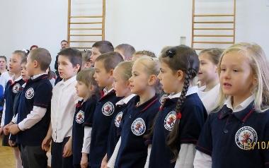 Klasa 1b Szkoły Podstawowej nr 1 w Szczecinie