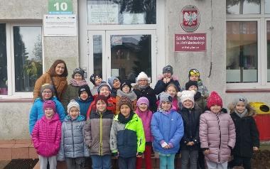 Klasa I ze Szkoły Podstawowej w Kobylance