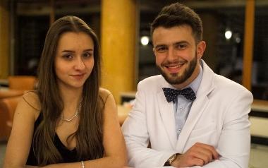 Marta Szymanowska i Kasper Bomba z ZS 1 im. Gustawa Morcinka w Tychach
