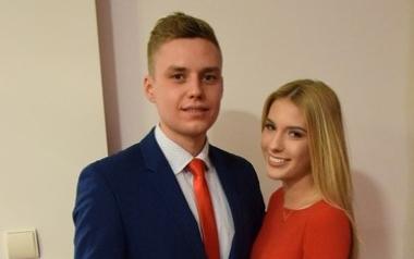 Ola Skrzyszowska i Damian Rogon z V LO w Gliwicach