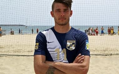 Witold Ziober, Grembach Łódź, beach soccer