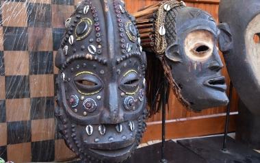 Maski plemienne afrykańskie