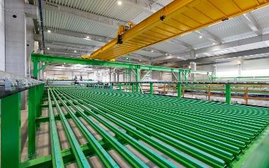 Najnowocześniejsza fabryka prefabrykatów w Europie - Kokoszki Prefabrykacja S.A.