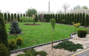 Ogród Anety Skrok z Kurowa, powiat opatowski