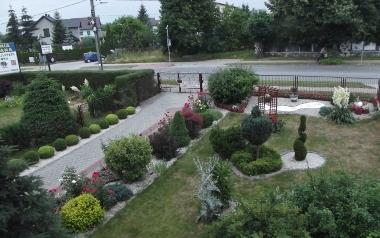 Ogród Elżbiety Papaj w Jędrzejowie