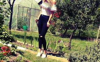 Ogród Elżbiety Suligi z Włoszczowy