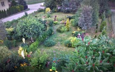 Ogród Eweliny Siemion - Wójcik z Janowic, powiat opatowski