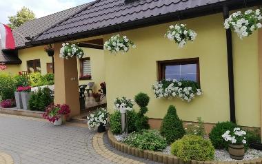 Ogród Jolanty Kupis z Czechowa, powiat pińczowski