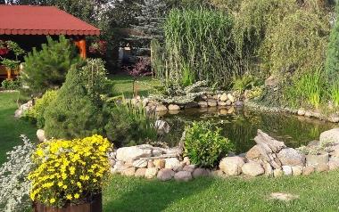 Ogród Katarzyny Pastuszko w Nietulisku Małym, w powiecie ostrowieckim