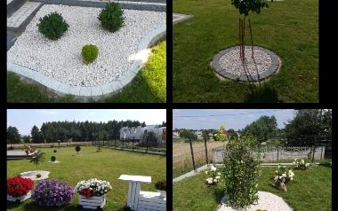 Ogród Łukasza Bassy w Sosnówce, powiat kielecki