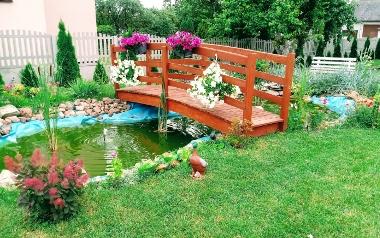 Ogród Pawła Czerwa z Wełecza koło Buska Zdroju