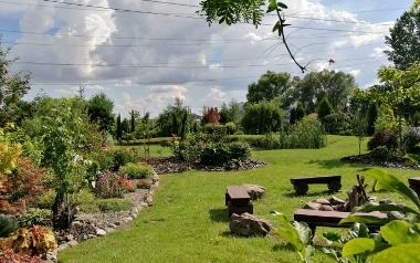 Ogród Urszuli Nowak w Tursku Małym, w powiecie staszowskim
