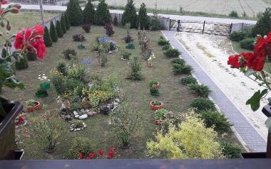 Ogród Wandy Detko z Kokotu, powiat pińczowski