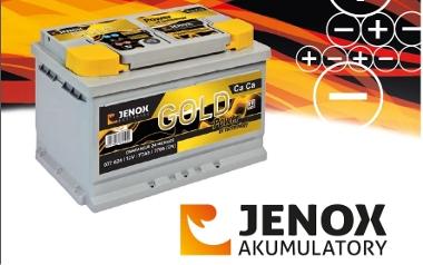 Akumulator JENOX GOLD