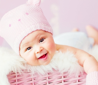 Maluch na okładkę - dziewczynka do lat 3