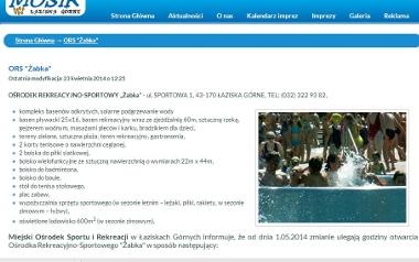 "Łaziska Górne, basen ""Żabka"""