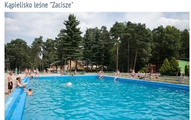 """Knurów, kąpielisko leśne """"Zacisze"""""""
