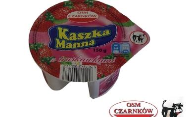 Kaszka manna z truskawkami OSM Czarnków