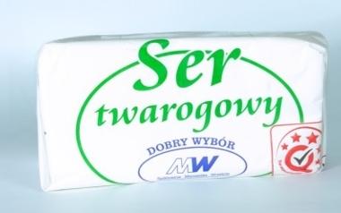 Ser twarogowy półtłusty ze Spółdzielni Mleczarskej Września