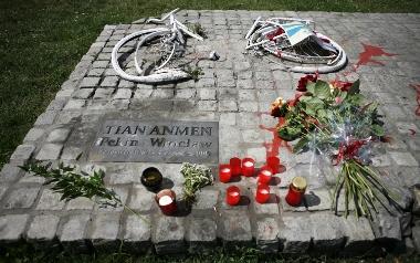 Pomnik masakry na placu Tiananmen