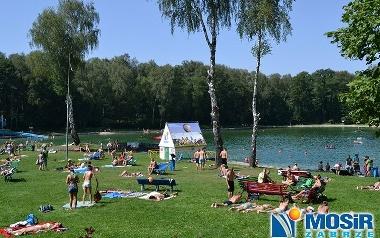 """Zabrze, kąpielisko """"Leśne"""""""