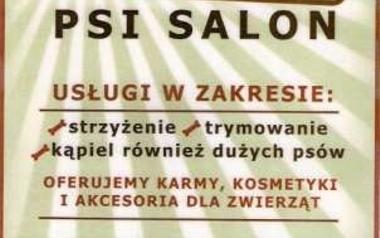 """""""GRACJA""""Psi salon ul.Kossaka 12 Łódź-Dąbrowa tel.501 006 558"""