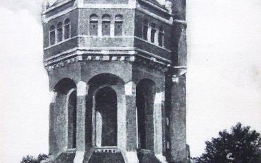 Wieża ciśnień Borek przy al. Wiśniowej